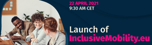 Picture cover for the launch of inclusivemobility.eu