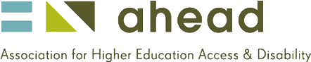 Logo of the AHEAD association